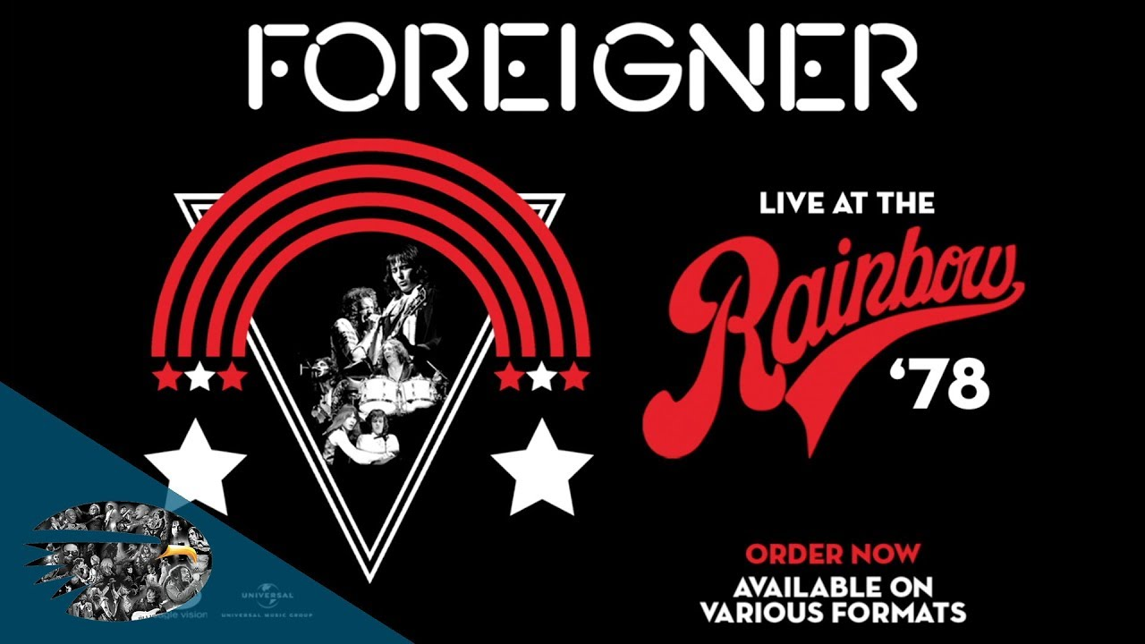 Foreigner Live at the Rainbow '78 Captures Classic Band Within Classic Era (DVD REVIEW)