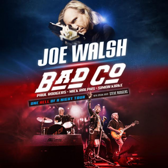 joe walsh bad company announce 39 one hell of a night 39 summer tour glide magazine. Black Bedroom Furniture Sets. Home Design Ideas