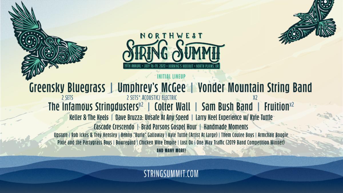 Greensky Bluegrass Umphrey S Mcgee Lead Northwest String